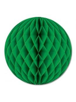 Boule papier ignifugé 25 cm vert prairie