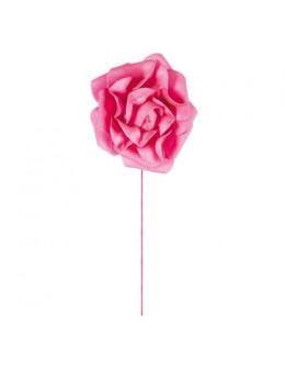 4 roses fuchsia 8 cm