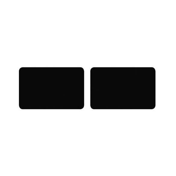 Sachet 16 étiquettes adhésives rectangle