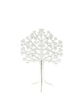 Arbre à voeux bois blanc 30cm