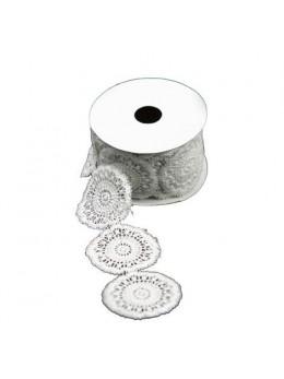 Ruban napperon dentelle coton 5cmx2m