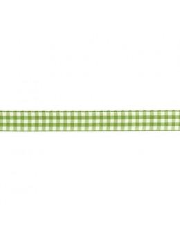 Ruban vichy vert 1.5cmx2m