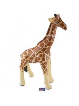 Déco girafe gonflable 74cm