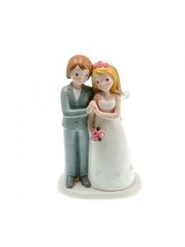 Figurine couple mariés résine gay filles