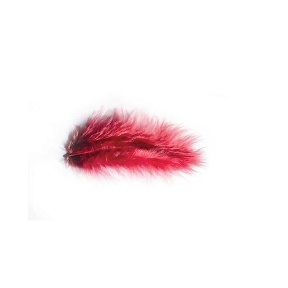 Pochette de plumes bordeaux 10 grammes