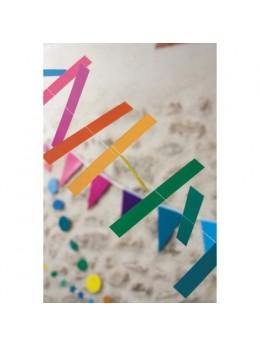 Guirlande batonnets multicolores