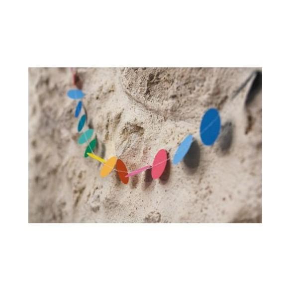 Guirlande mini confetti multicolore 3m