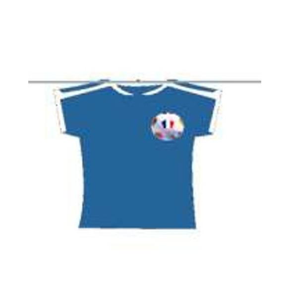 Guirlande 12 maillots de football 5m