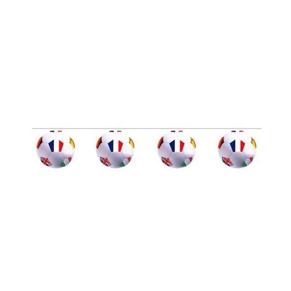 Guirlande 10 ballons de football
