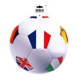 Déco carton ballon de foot Nations