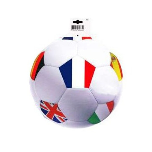 Déco carton ballon de foot Nations