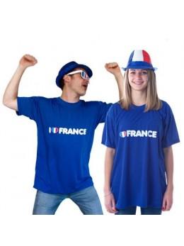 """T-shirt """"I love France"""""""