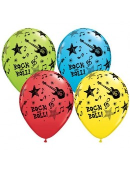 10 ballons rock and roll