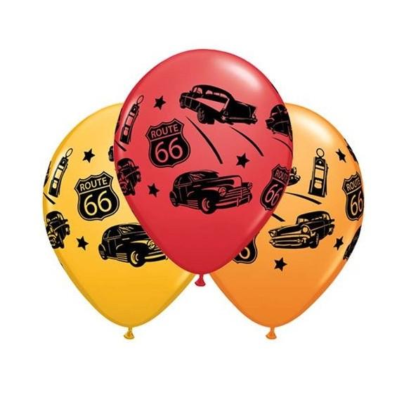 10 ballons route 66