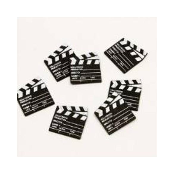 25 Confetti clap cinéma