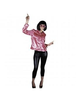Déguisement chemise disco femme rose