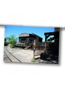 Guirlande gare Western