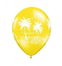 ballon thème palmier