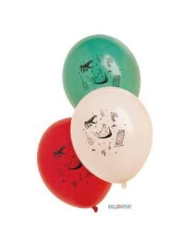 ballons ambiance italie