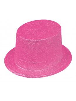 Gibus paillettes rose fluo