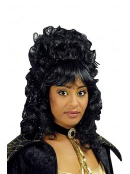 perruque marquise noire
