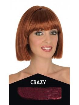 perruque crazy rousse