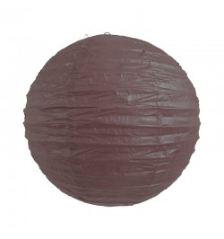 Lampion ballon chocolat 25 cm