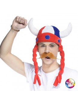 casque vicking supporter France