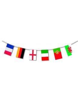 guirlandes des pays de l'euro de foot