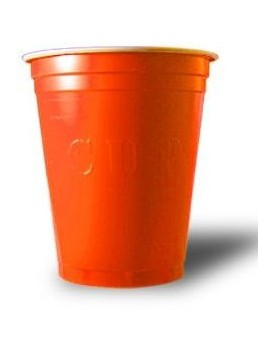 20 Gobelets Orange Cup