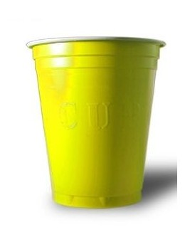 20 Gobelets jaune Yellow Cup
