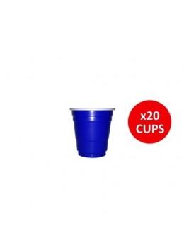 "20 shooters ""original blue cup"""