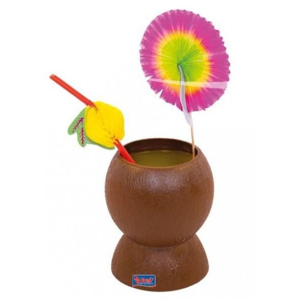 Coupe plastique noix de coco