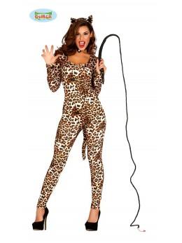 Déguisement Justaucorps léopard