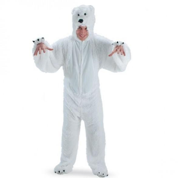 Déguisement ours polaire blanc