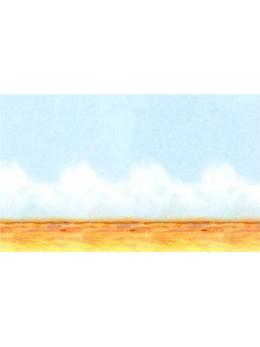 Rouleau déco désert ciel