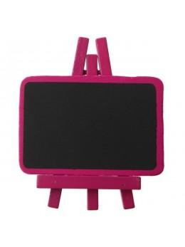 mini ardoise chevalet rose