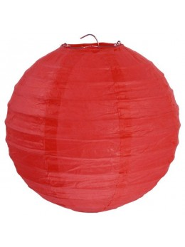 LAMPION BALLON GÉANT ROUGE