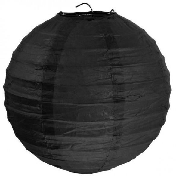 lampion ballon géant noir