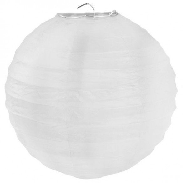 Lampion ballon géant blanc