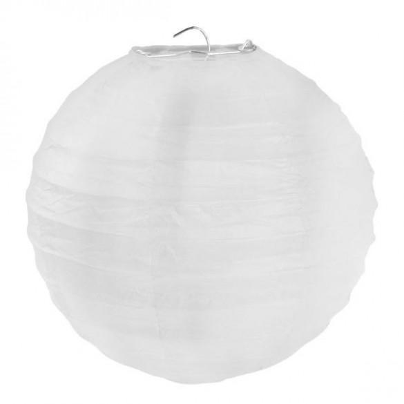 2 Lampions ballons blanc