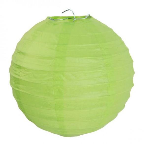 2 Lampions ballons vert
