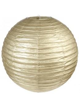 LAMPION GÉANT MÉTALLISÉE XL OR