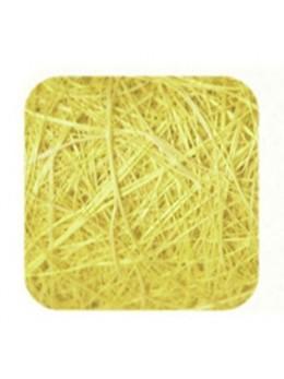 Ruban abaca jaune