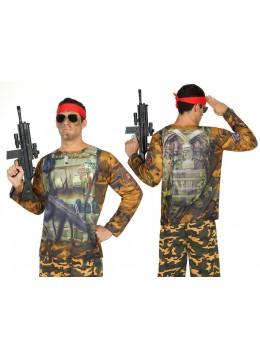 tshirt militaire rambo