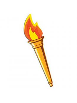 Découpe torche olympique