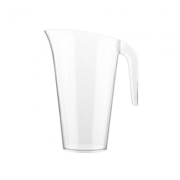 Carafe plastique transparente 1.5l