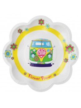 10 assiettes hippie