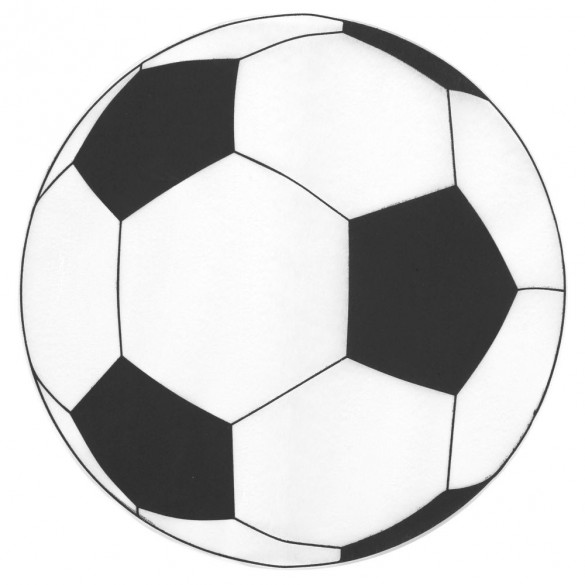 6 Sets de table ballons de foot