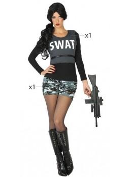 deguisement policière swat